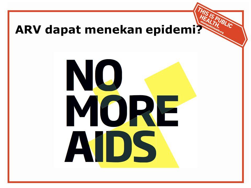 ARV dapat menekan epidemi?
