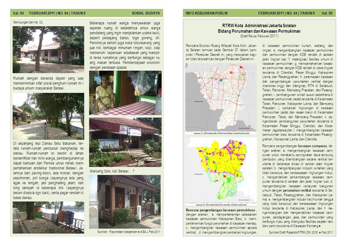 Rencana Struktur Ruang Wilayah Kota Adm.