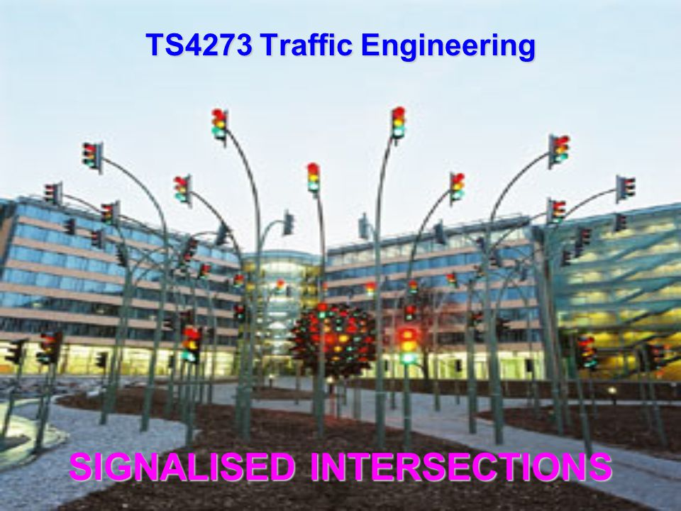 Time Sequence for Two-Phase Signal Control Street A Street B