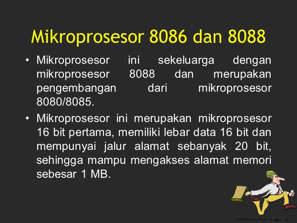 Mikroprosesor ini sekeluarga dengan mikroprosesor 8088 dan merupakan pengembangan dari mikroprosesor 8080/8085. Mikroprosesor ini merupakan mikroprose