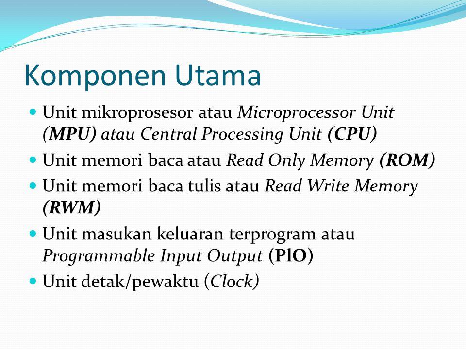 CPU Tujuan Umum Arah perkembangan mikroprosesor yang ke tiga adalah CPU untuk keperluan umum atau dalam bahasa asing disebut general-purpose CPU yang digunakan pada komputer semacam PC.
