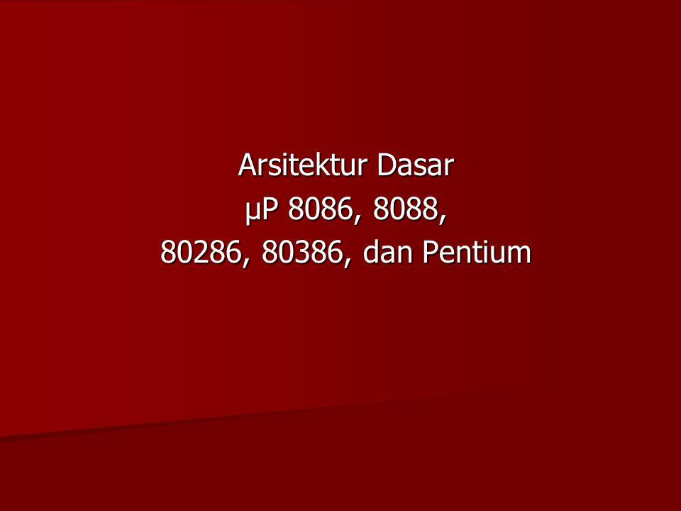 Outline Mikroprosesor 80186/80188 Mikroprosesor 80186/80188 Mikroprosesor 80286 Mikroprosesor 80286 Mikroprosesor 80386 Mikroprosesor 80386 Mikroprosesor PENTIUM Mikroprosesor PENTIUM