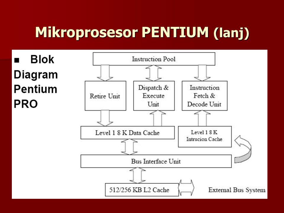 Mikroprosesor PENTIUM (lanj)