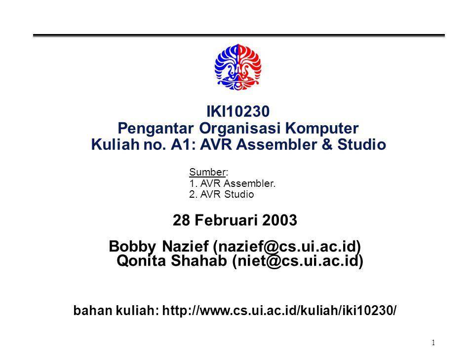 32 AVR Studio
