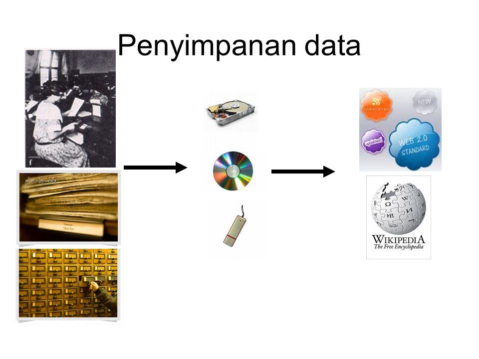 Penyimpanan data