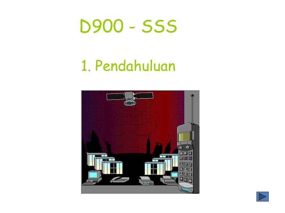 Tujuan mempelajari subsistem hardware pada sistem D-900 adalah : * Untuk mengetahui subsistem hardware dari sistem D-900 * Untuk dapat menjelaskan masing-masing fungsi dari subsistem hardware SSS * Untuk dapat menerangkan struktur fisik dari subsistem hardware SSS 2.1.