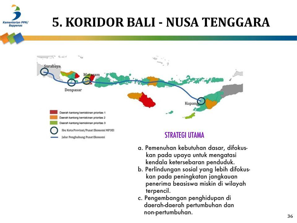 5. KORIDOR BALI - NUSA TENGGARA 36