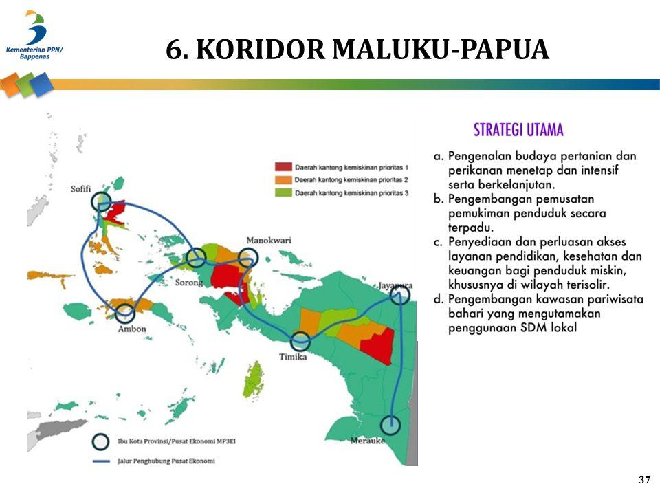6. KORIDOR MALUKU-PAPUA 37