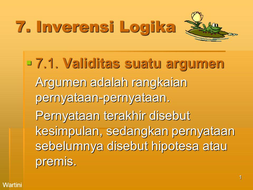 1 7.Inverensi Logika  7.1.