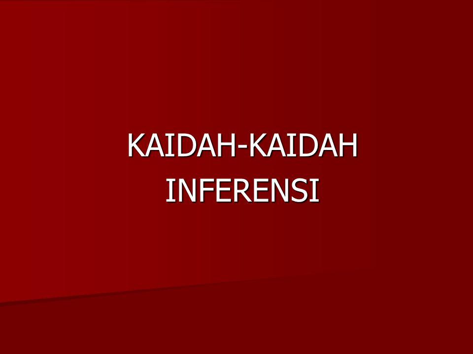 KAIDAH-KAIDAHINFERENSI