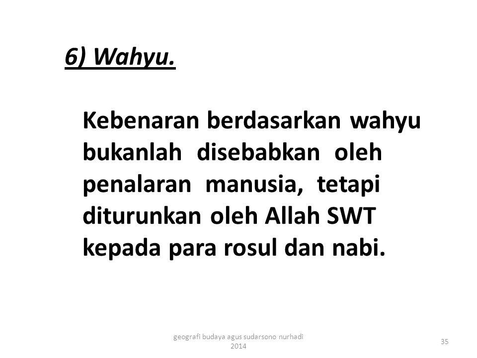 6) Wahyu.