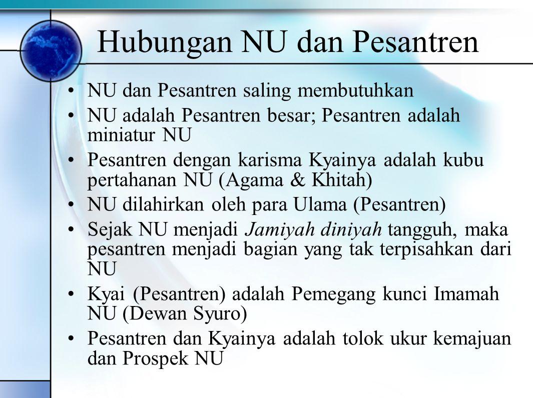 Kelahiran NU (Khozin: 2006, dan Noer 1990) NU didirikan di Surabaya 31 Januari 1926 Pada Awalnya adalah gerakan Sosial- Keagamaan dengan bingkai Islam