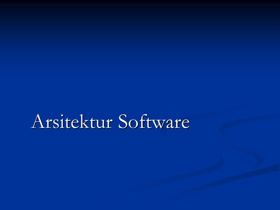 Arsitektur Software