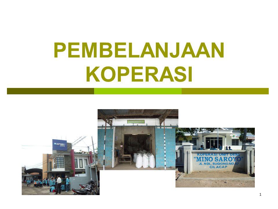 2 PEMBELANJAAN KOPERASI  Usaha memperoleh dana koperasi, utk membiayai kelangsungan hidup koperasi, meliputi kegiatan pengumpulan modal & pemanfaatan modal/operasional kegiatan.