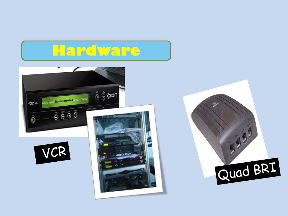 Hardware Quad BRI VCR