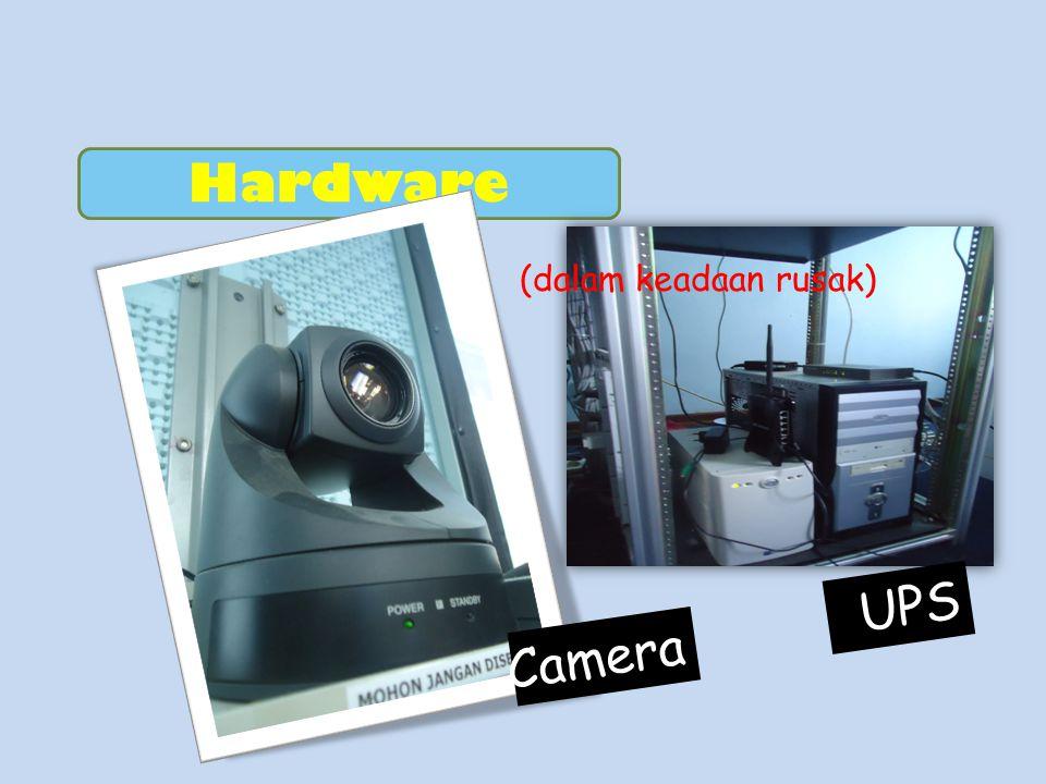 Hardware Camera UPS (dalam keadaan rusak)