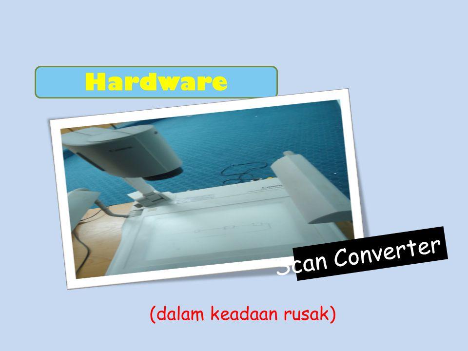Hardware Scan Converter (dalam keadaan rusak)