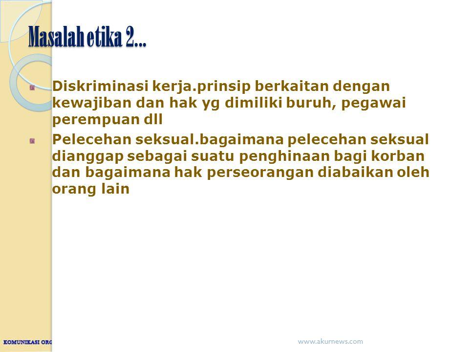 Masalah etika 2...