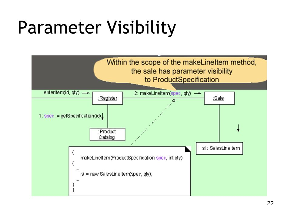 22 Parameter Visibility