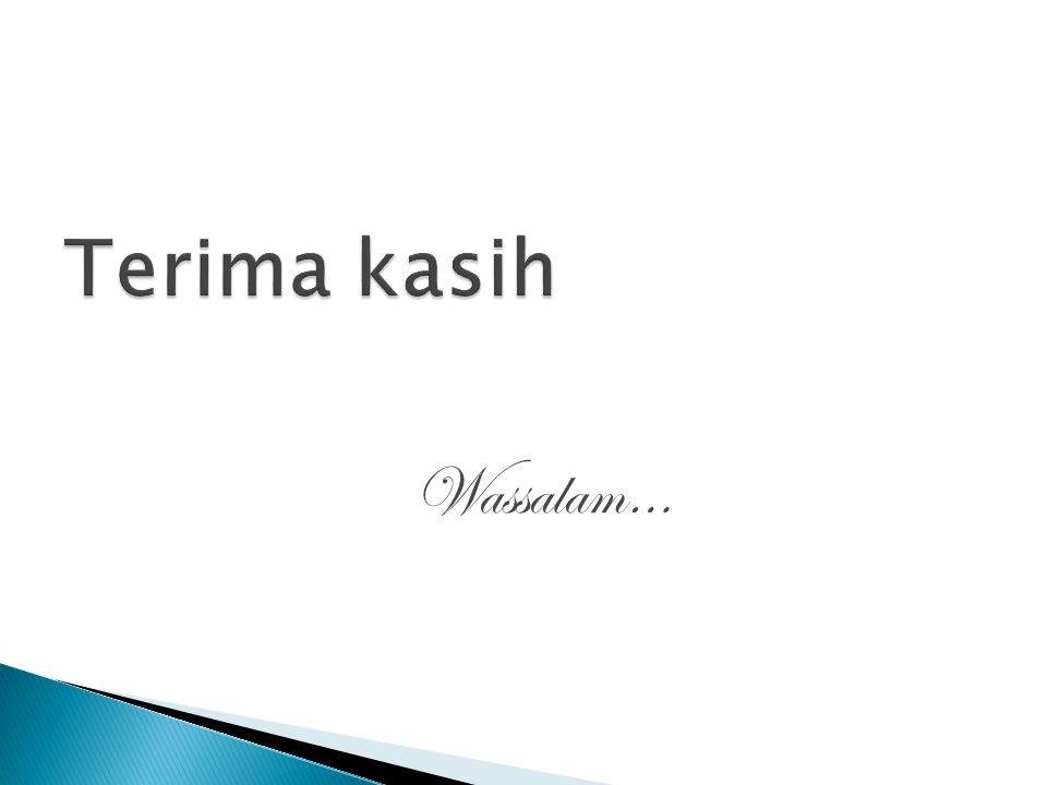 Wassalam…