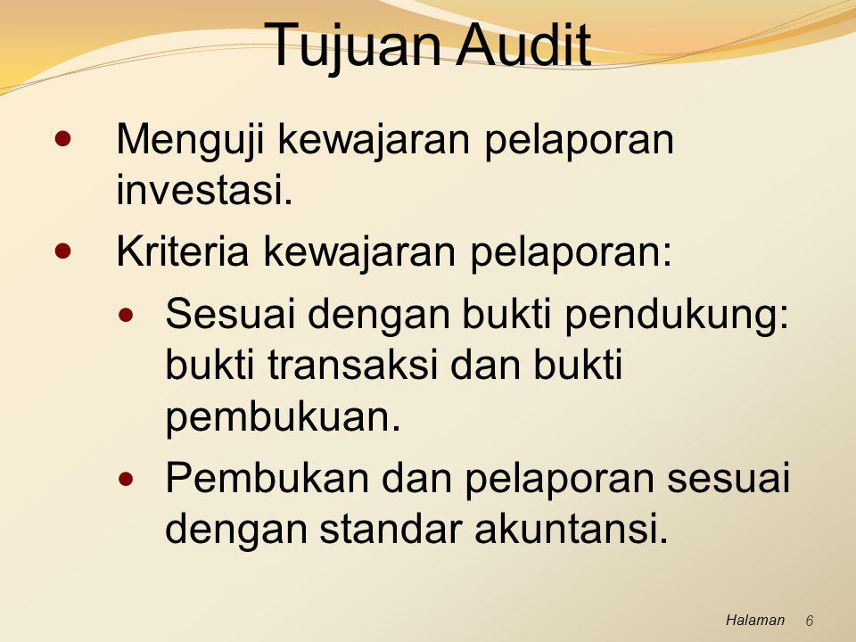 Halaman Perencanaan Audit Saldo Kas Control risk (risiko pengendalian).