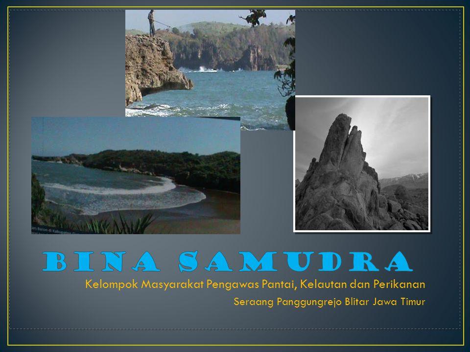 Kelompok Masyarakat Pengawas Pantai, Kelautan dan Perikanan Seraang Panggungrejo Blitar Jawa Timur