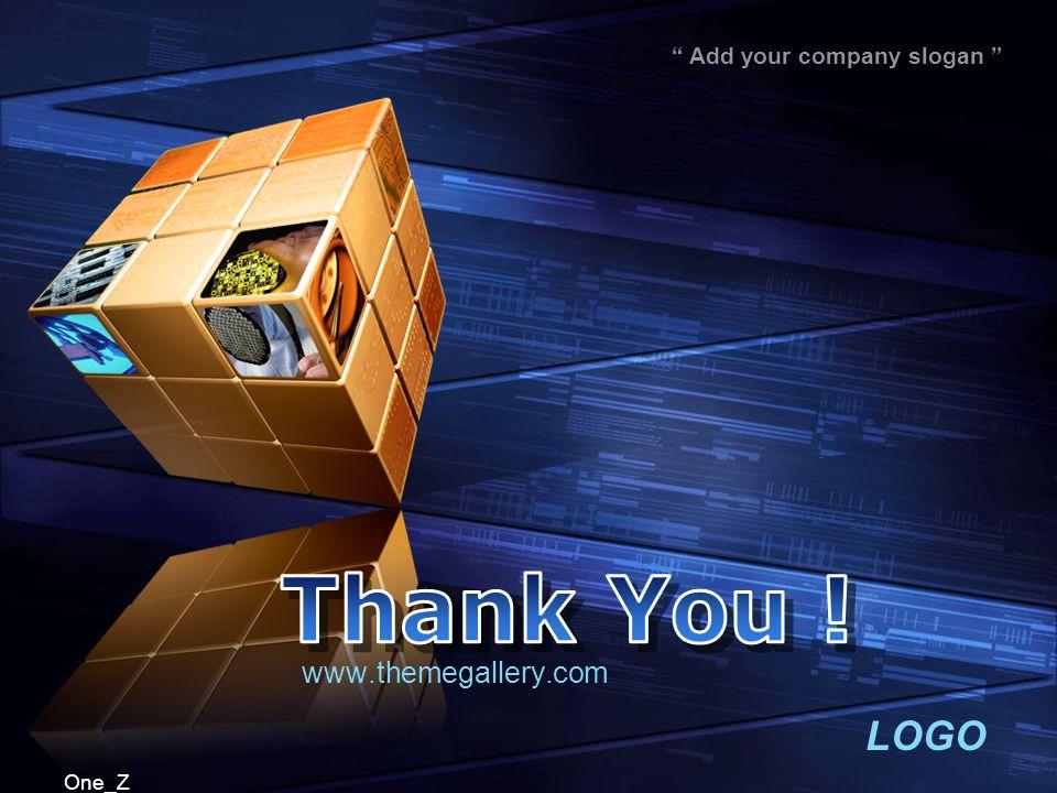 """LOGO """" Add your company slogan """" One_Z www.themegallery.com"""