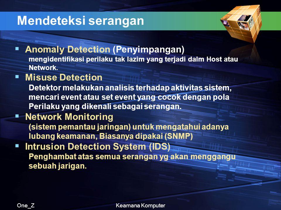 One_ZKeamana Komputer Fingerprint (sidik jari) Sidik jari dapat digunakan sebagai sarana Keamanan komputer karena memiliki ciri-ciri yang unik, setiap manusia memilikinya,dan selalu ada perbedaan antara satu dengan yang lainnya.