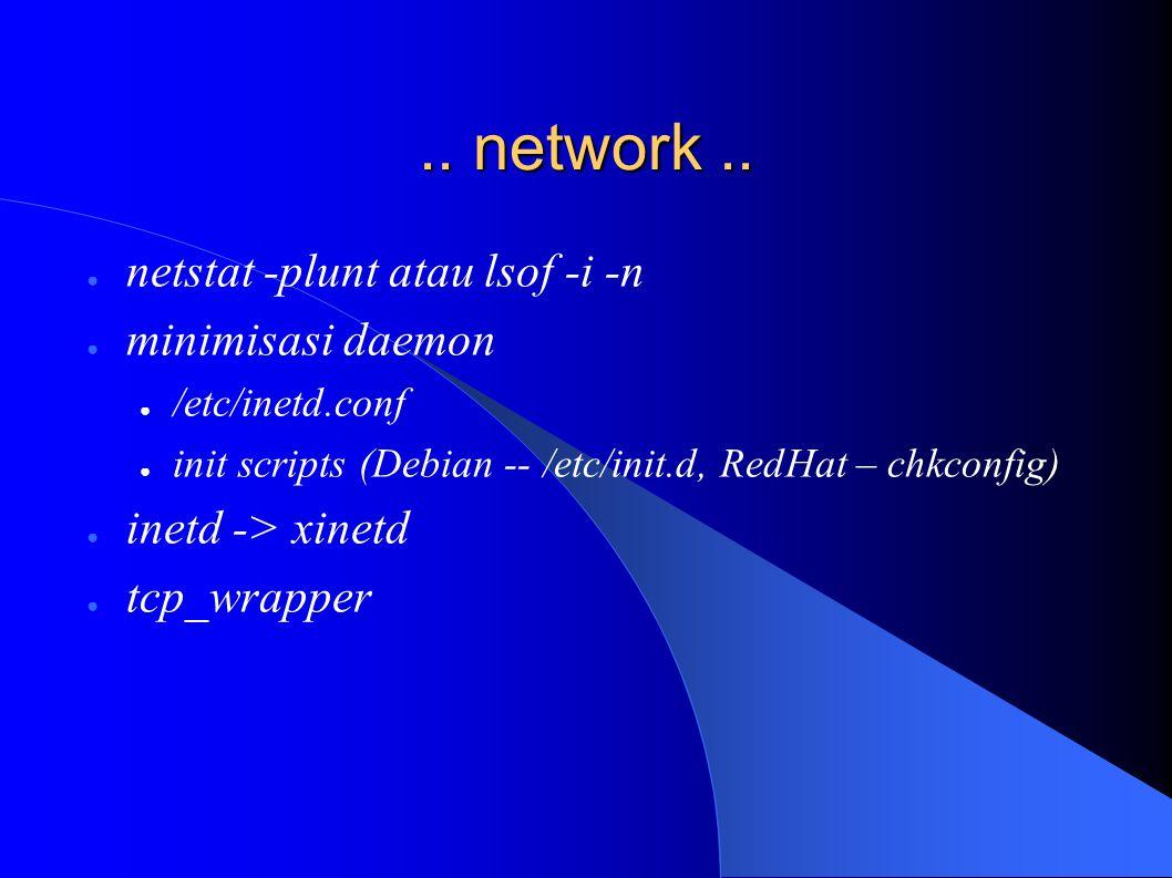 .. network..