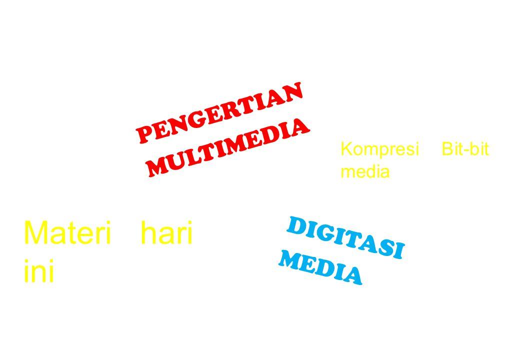 PRE TEST Apa yang anda ketahui tentang multimedia ? Multi media?