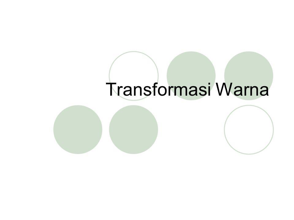 Transformasi Warna
