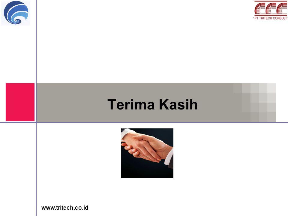 www.tritech.co.id Terima Kasih