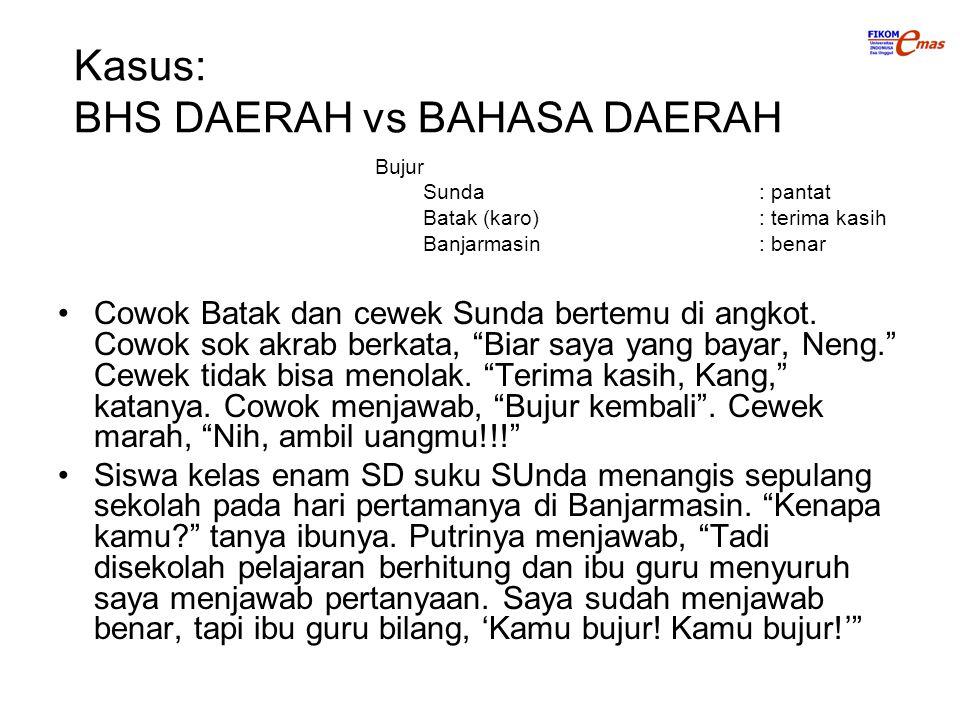 Cowok Batak dan cewek Sunda bertemu di angkot.