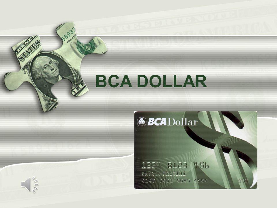 BCA DOLLAR