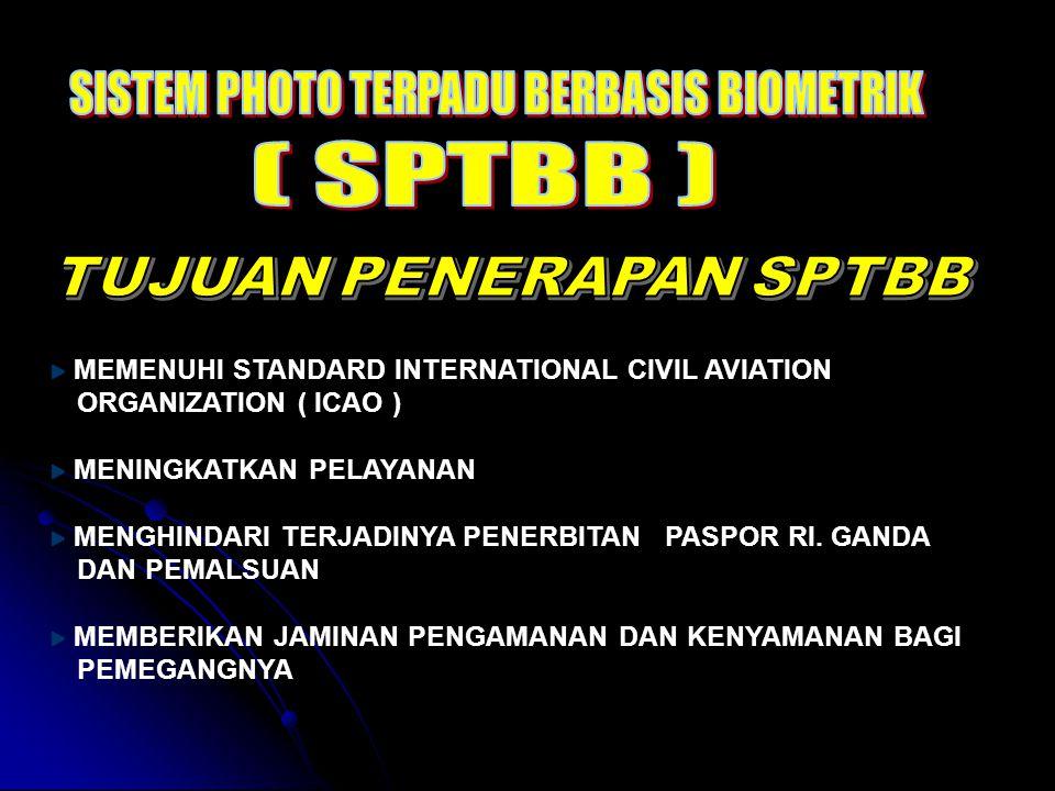 PEMBERIAN PASPOR RI DENGAN SISTEM E-PASPOR BERBASIS BIOMETRIK SECARA ON LINE DATA CENTRE SURABAYA Makassar Jakarta : Kantor Imigrasi Kelas I Khusus, I, II dan III ( 103 lokasi )