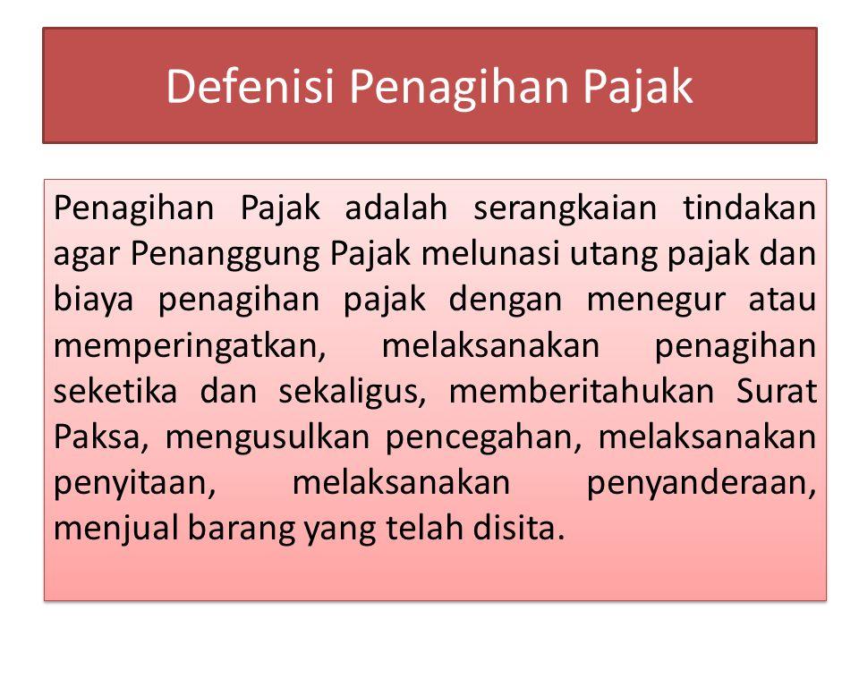 PENCEGAHAN Pencegahan adalah larangan yang bersifat sementara terhadap Penanggung Pajak tertentu untuk keluar dari wilayah Negara Republik Indonesia berdasarkan alasan tertentu sesuai dengan ketentuan peraturan perundang- undangan.