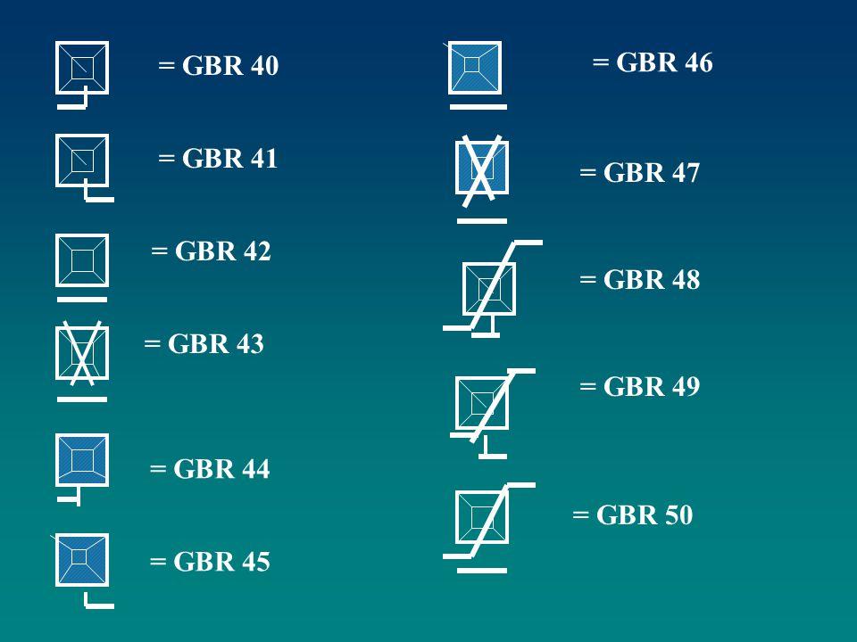 = GBR 40 = GBR 41 = GBR 42 = GBR 43 = GBR 44 = GBR 45 = GBR 46 = GBR 47 = GBR 48 = GBR 49 = GBR 50
