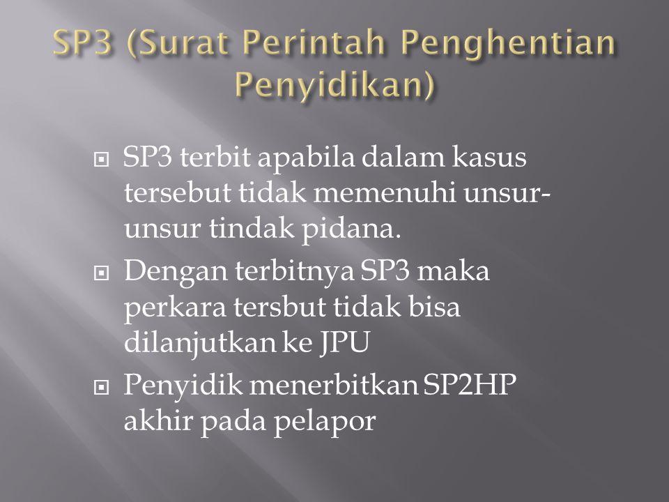  PENYERAHAN BERKAS BAP PENYIDIK TAHAP I  Berkas hasil penyidik selesai dibuat dilimpahkan pada Ke JPU (Jaksa Penuntut Umum) Kejaksaan Negeri Karawan
