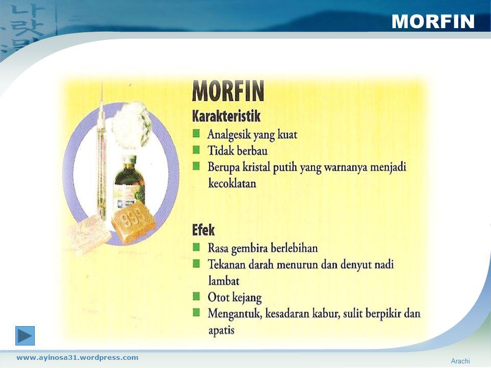 MORFIN Arachi www.ayinosa31.wordpress.com