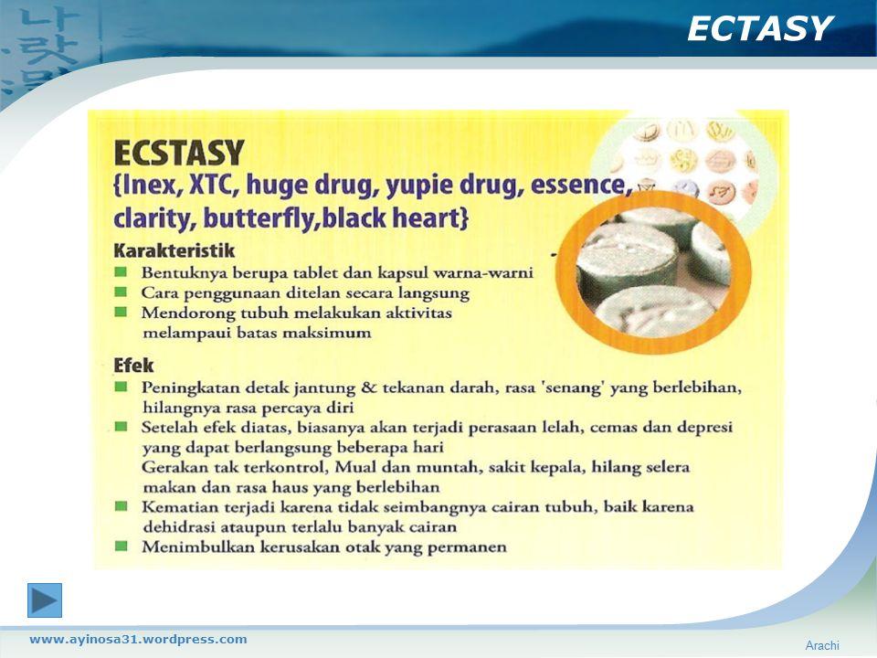 ECTASY Arachi www.ayinosa31.wordpress.com