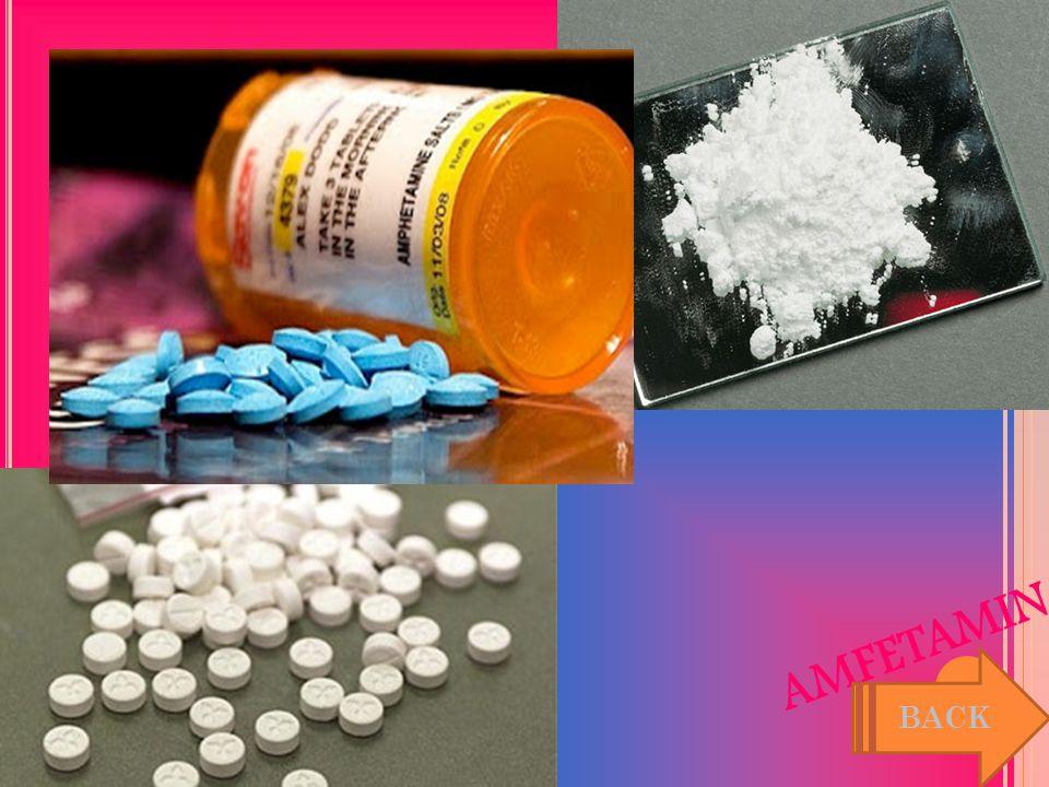 AMFETAMIN Nama generik/turunan amfetamin adalah D-pseudo epinefrin yang pertama kali disintesis pada tahun 1887 dan dipasarkan tahun 1932 sebagai peng