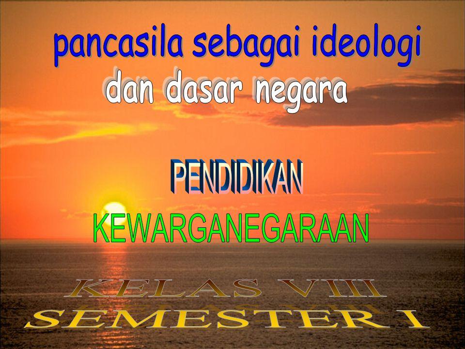 b.Pancasila dan Ideologi lain.