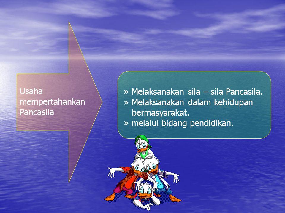 2.Arti pentingnya Pancasila dlm mempertahankan NKRI.