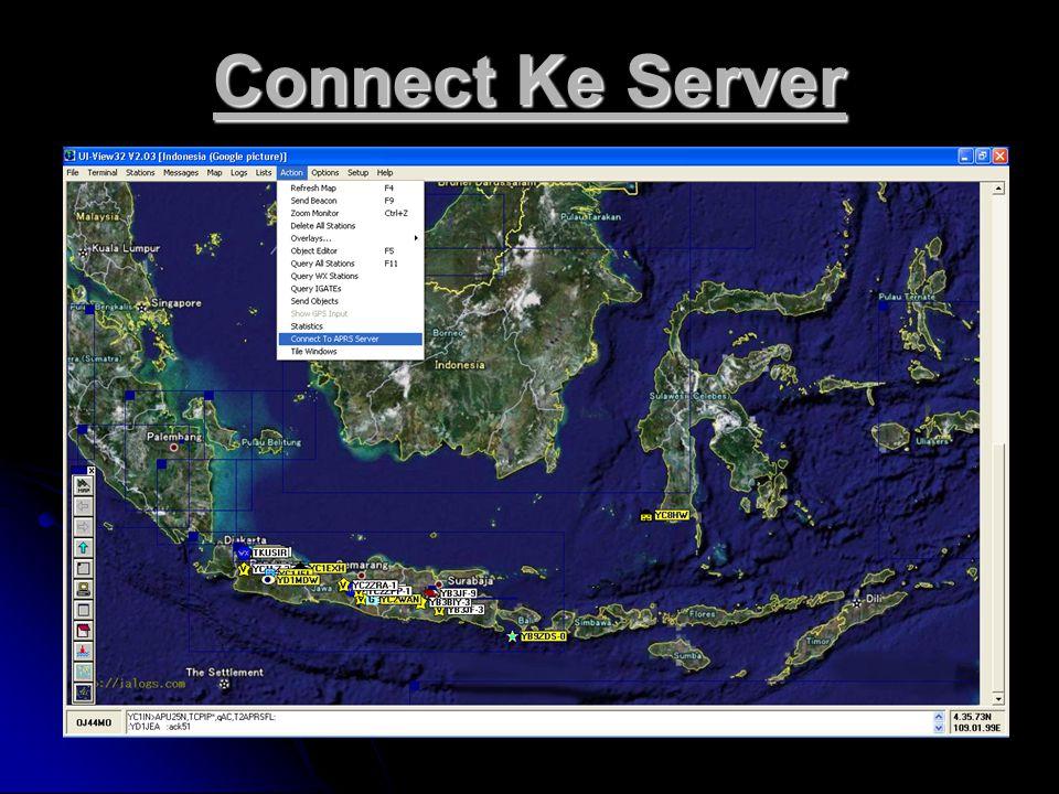 Connect Ke Server
