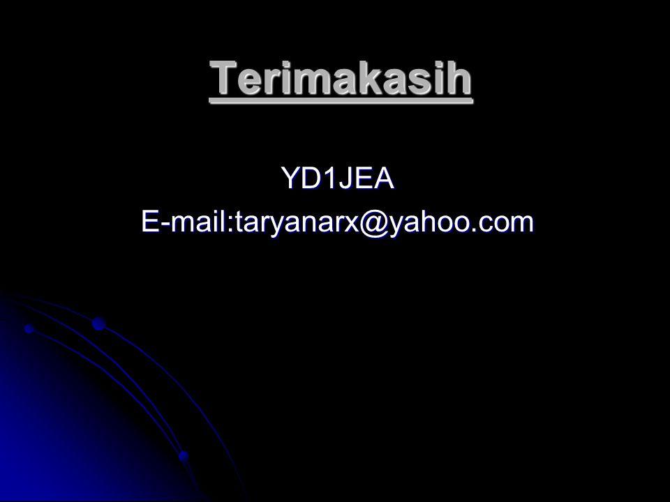 Terimakasih YD1JEAE-mail:taryanarx@yahoo.com