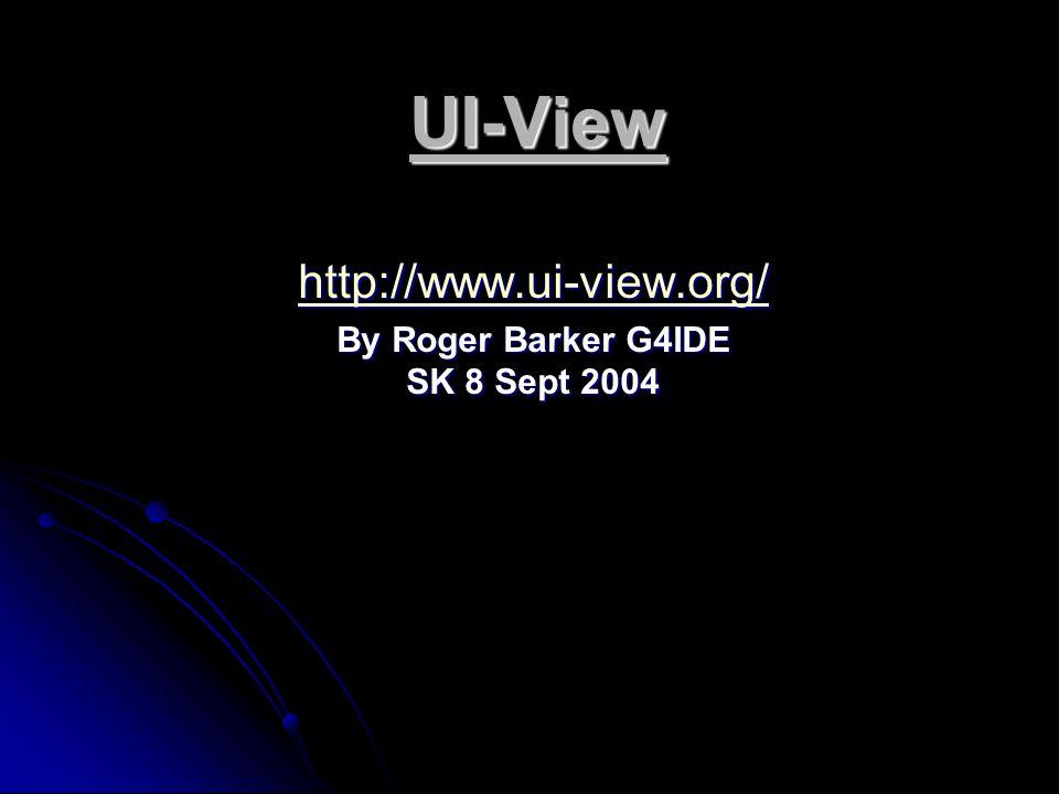 UI-View 32 V 2.03