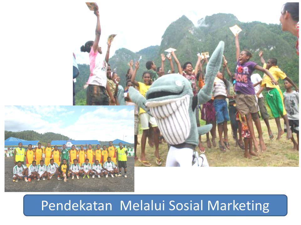 Pendekatan Melalui Sosial Marketing