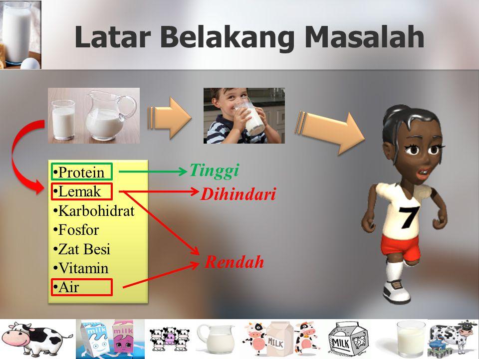 Latar Belakang Masalah Protein Lemak Karbohidrat Fosfor Zat Besi Vitamin Air Protein Lemak Karbohidrat Fosfor Zat Besi Vitamin Air Rendah Dihindari Ti