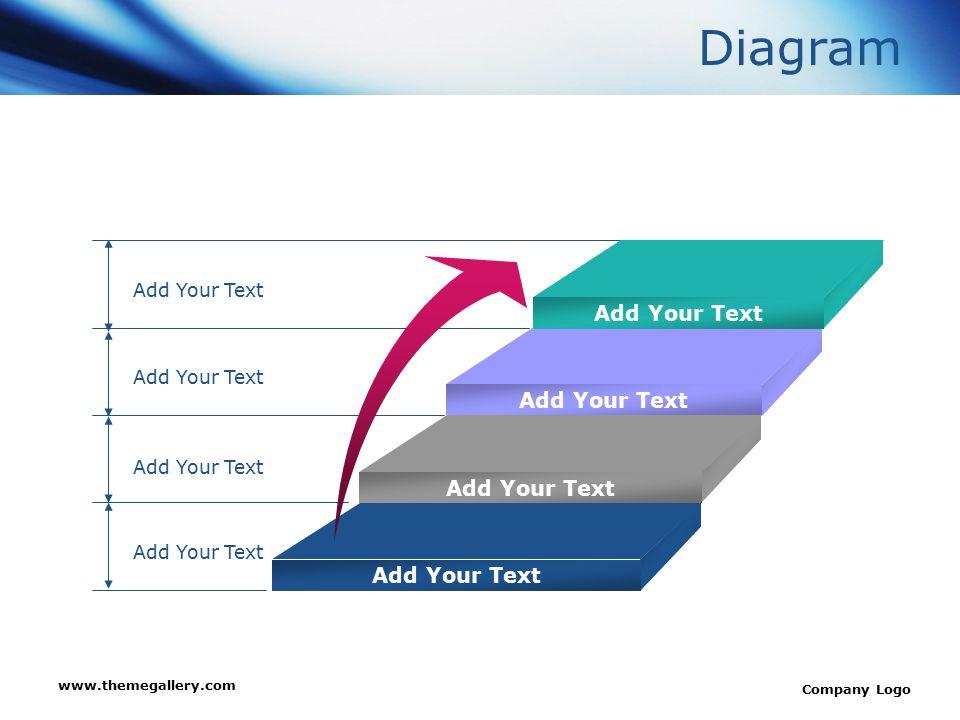 www.themegallery.com Company Logo Block Diagram Add Your Text concept Concept Concept Concept