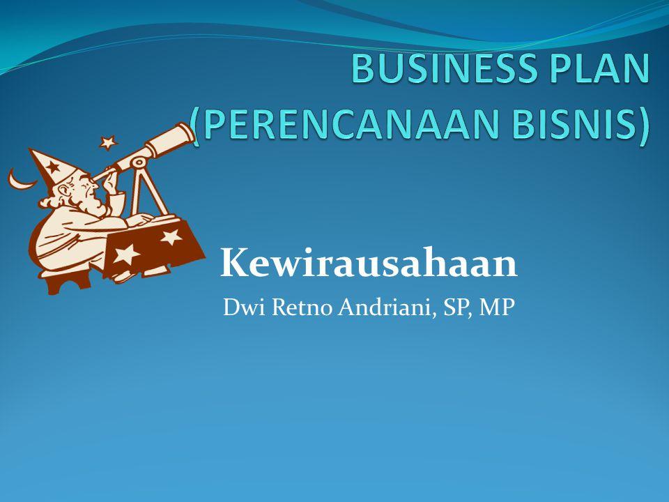Kewirausahaan Dwi Retno Andriani, SP, MP